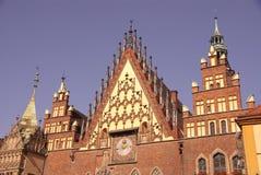 Wroclaw in Polen stock fotografie