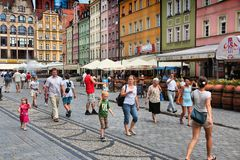 Wroclaw, Polen Lizenzfreies Stockbild