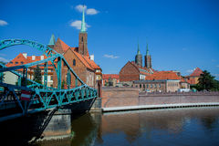 Wroclaw in Polen royalty-vrije stock foto