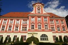 Wroclaw in Polen Ansicht über älteste Stadtteile Stockbilder