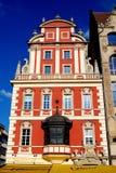 Wroclaw Polen: Barocka borgares hus Royaltyfria Foton