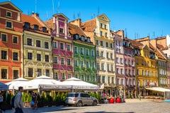 Wroclaw - Polen historisk mitt Arkivfoton