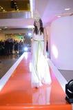 Modeshow - Wroclaw, Polen Fotografering för Bildbyråer