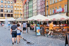 Wroclaw, Pologne photos stock
