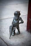 Wroclaw, Pologne - 10 mai : Gnome de Wroclaw sur la rue le 10 mai, Image stock