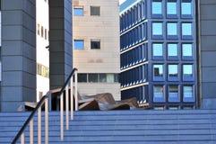 Wroclaw, Pologne, octobre 2018 Bâtiment moderne de bibliothèque universitaire de Wroclaw photo stock