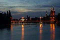 Wroclaw, Polonia Fotografia Stock Libera da Diritti