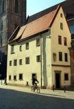 Wroclaw, Polonia: Casa de Hansel y de Gretel Fotos de archivo libres de regalías