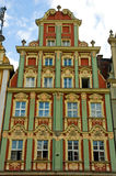 Wroclaw Polonia del cuadrado de mercado Imagen de archivo