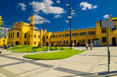 Wroclaw Railway Station Royalty Free Stock Image