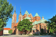 Wroclaw. St. John the Baptist Royalty Free Stock Images