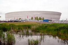 Wroclaw stadium Royalty Free Stock Image