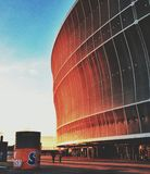 Wroclaw Stadium Royalty Free Stock Photo