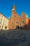 Wroclaw Town Hall Royalty Free Stock Photography