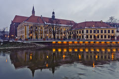 Wroclaw University - Poland Stock Photography