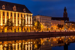 Wroclaw University Stock Photography