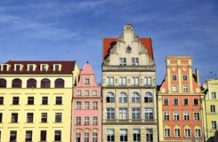 Wroclaw - vieille ville, Pologne, l'Europe Photos stock