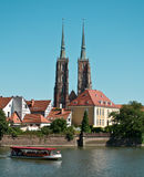 Wroclaw. View of the island Tumski Stock Photography