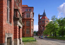 The Wroclaw water tower Stock Photos