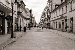 Wroclawskastraat Poznan Royalty-vrije Stock Afbeelding