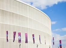 Wroclawstadion stockbilder