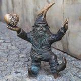 Wroclovek dwarf Royalty Free Stock Photos