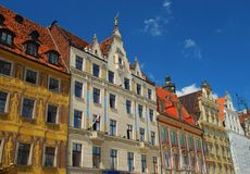 Wroklaw, Poland. Rynek Stock Photos