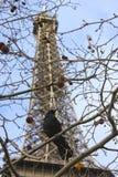 Paryż - wieża eifla Fotografia Royalty Free