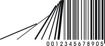 Wrong barcode Stock Image