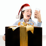 The wrong gift Royalty Free Stock Photos