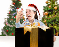 The wrong gift Royalty Free Stock Image