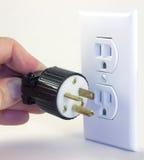 The wrong plug for the job Royalty Free Stock Image