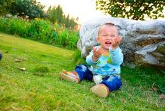 Wronged baby Stock Image