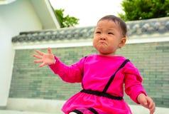 Wronged behandla som ett barn Royaltyfri Foto