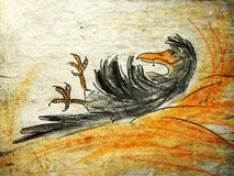 wroni haystack royalty ilustracja