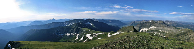 Wroni szczyt, Montana Zdjęcie Stock