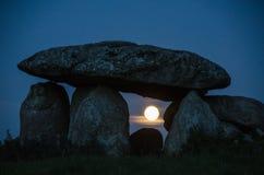 Wrotna księżyc Obraz Stock