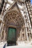 Wrotna losu angeles Giralda katedra w Seville, Hiszpania Zdjęcie Royalty Free