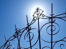 Wrought-iron Stock Photo