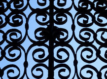 Wrought iron Stock Photo