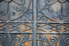 Wrought iron Royalty Free Stock Image
