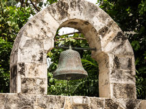Wrought iron bell Royalty Free Stock Photos
