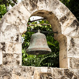 Wrought iron bell Stock Photography