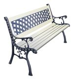Wrought-iron bench Royalty Free Stock Image