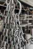 Wrought Iron Chain Stock Photos