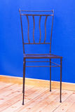 Wrought iron chair Royalty Free Stock Image