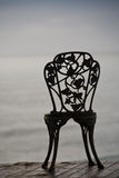 Wrought Iron Chair Royalty Free Stock Photo