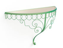 Wrought iron console table Stock Images