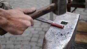 Wrought Iron Craftsman Work stock video footage