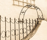 Wrought Iron Curves Royalty Free Stock Photo